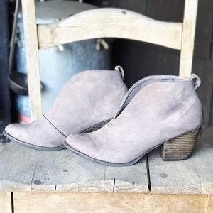 Corkys Holiday Bootie Taupe Size 10